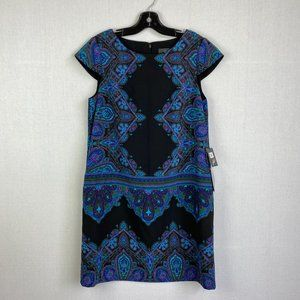 ADRIANNA PAPELL Pattern Dress NWT